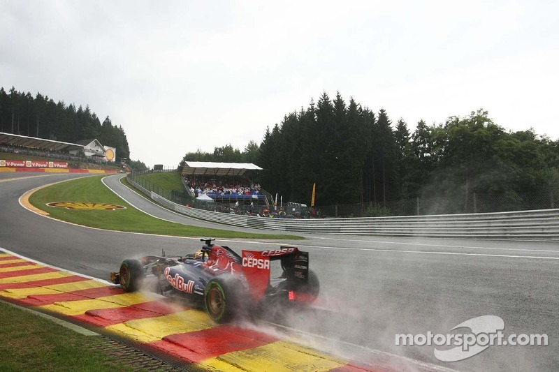 Toro Rosso mistake cause bad qualifying results at Spa
