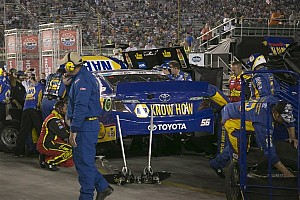 NASCAR Sprint Cup Breaking news Despite wrist injury, Truex Jr will continue to race