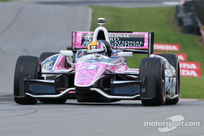 'Baltimore Oriol' Servia finishes 12th overall during Friday practice