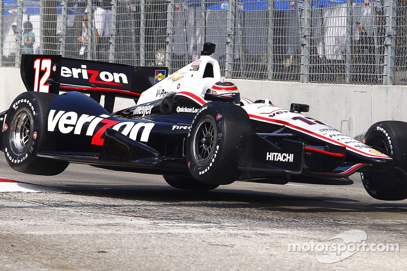 Power qualifies second to lead Team Penske at Grand Prix of Baltimore