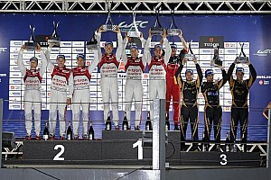WEC Race report Reigning champions win 6 Hours of Sao Paulo