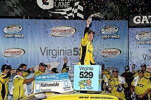 NASCAR XFINITY Race report Keselowski surges to NNS victory at Richmond