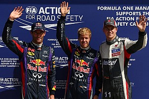 Vettel leads commanding Red Bull 1-2 in Italy