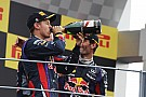 Red Bull celebrates its 40th victory at Monza