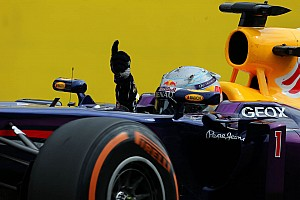 Renault powers Vettel to victory at Monza