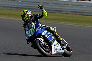 MotoGP Practice report Strong start in Misano for local hero Rossi