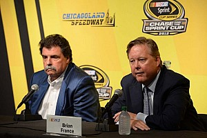 NASCAR Sprint Cup Commentary NASCAR sends strong message to competitors in Chicagoland meeting