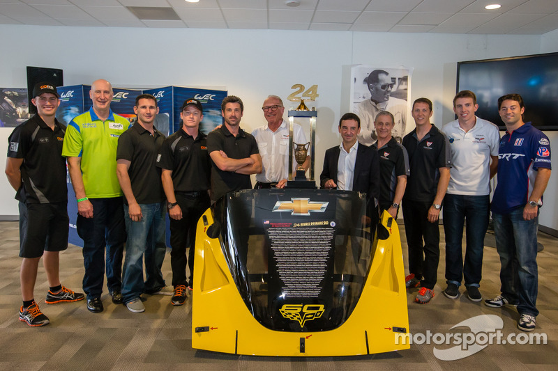 Le Mans: Homage to Richard Thompson with Corvette