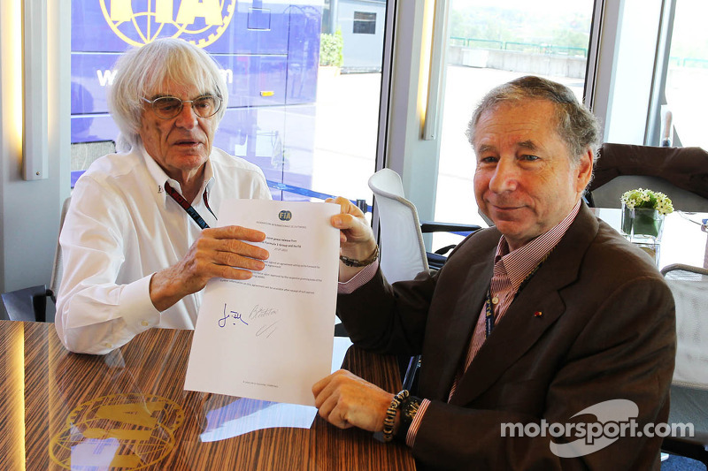 Third candidate could enter FIA race - Ecclestone