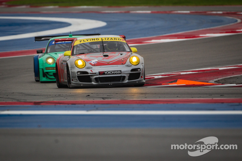 Flying Lizard finished in 5th and 7th places at Circuit of the Americas