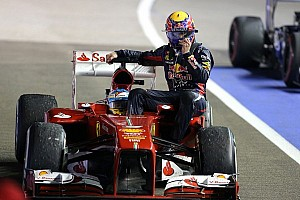 Formula 1 Breaking news Ferrari sent Webber bill for Singapore 'taxi'