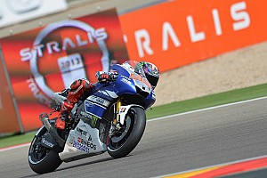 MotoGP Race report Double delight for Yamaha in Aragon