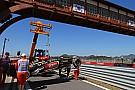 Lotus' Raikkonen destroyed part of his car on Friday practice in South Korea
