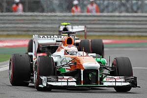 Formula 1 Race report Unlucky race for Di Resta and Sutil at Korea