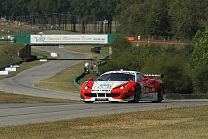ALMS Race report Sweedler and Bell finish 10th in the Team West/AJR Ferrari at VIR