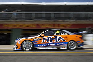 V8 Supercars Practice report Erebus Motorsport on early accident in 3rd practice at Bathurst 1000