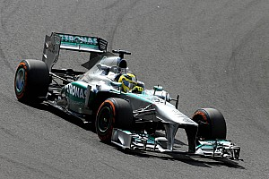 Formula 1 Practice report Mercedes AMG Petronas gets top-3 results in FP session at Japan