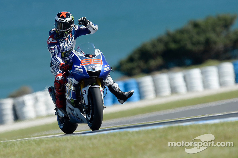 Lorenzo Flies to Record Breaking Phillip Island Pole
