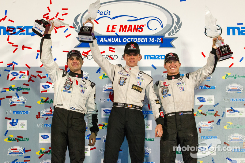 Tucker claims fourth ALMS Championship with Petit Le Mans win