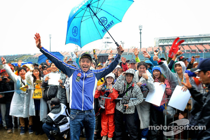 Relentless rain prevents MotoGP practice on day one at Motegi