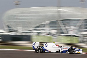 GP2 Race report Trident did not collect the results on Race 1 at Yas Marina circuit