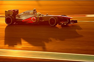 Button unlucky and Perez top ten in Abu Dhabi GP