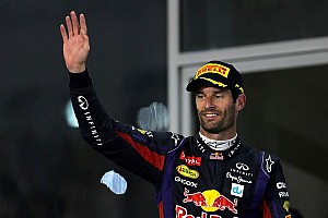 Motivation to stay fit 'went away' - Webber