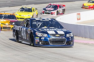 NASCAR Sprint Cup Preview No friends when the helmet goes on for Johnson
