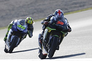 MotoGP Race report Smith seventh, Crutchlow falls in final round at Valencia