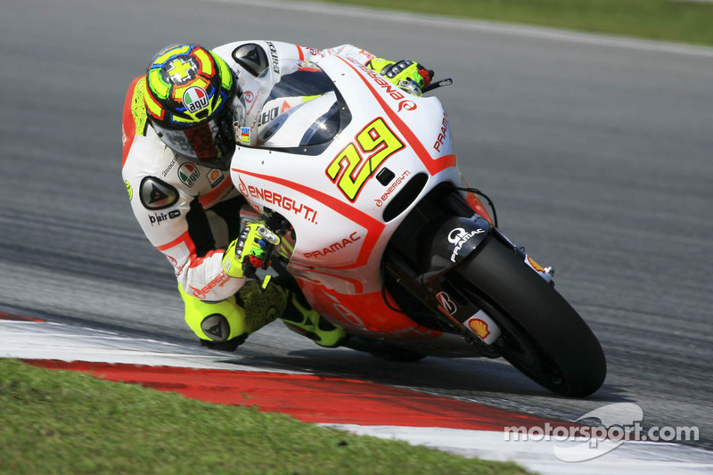 Positive day for the Pramac Racing Team