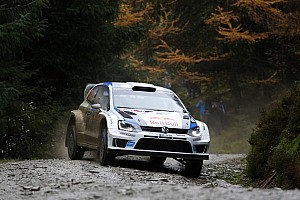 WRC Qualifying report Ogier edges out Neuville in Wales Rally GB qualifying