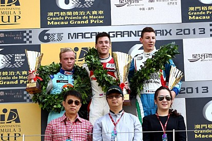 Victory for Lynn and Prema at Macau