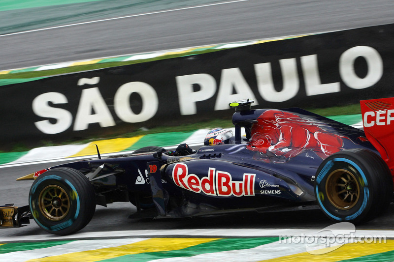 Toro Rosso end the year with a point at Interlagos