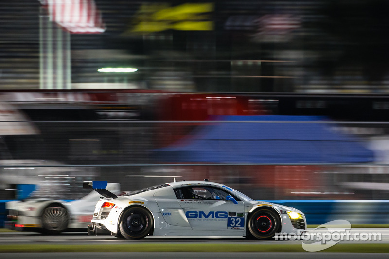 Audi teams performed well again in day 2 of the Daytona tests