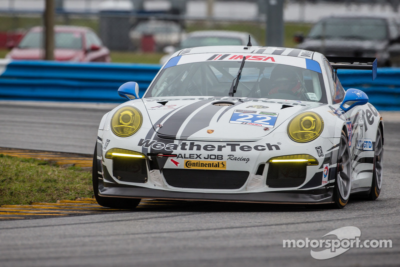 WeatherTech Racing puts Daytona miles on new Porsche