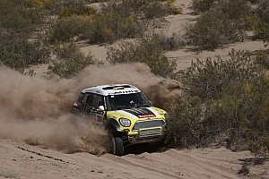 Stéphane Peterhansel wins stage six for the X-raid Team