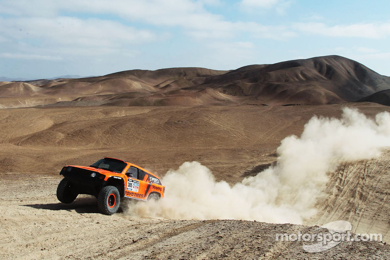 Robby Gordon now sits in 22nd place overall