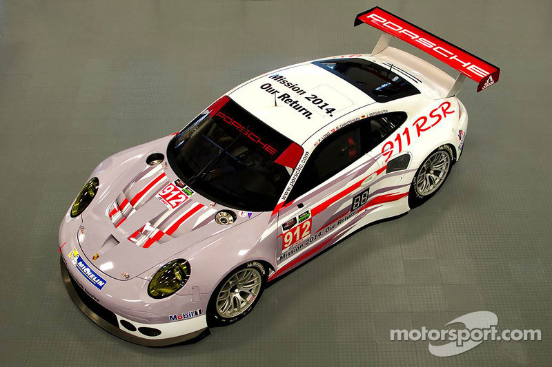 Large contingency of Porsches prepared for the Daytona 24