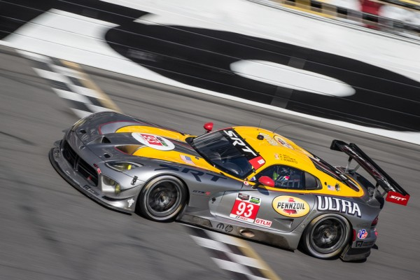 Kuno Wittmer and SRT Motorsports at the 24 at Daytona