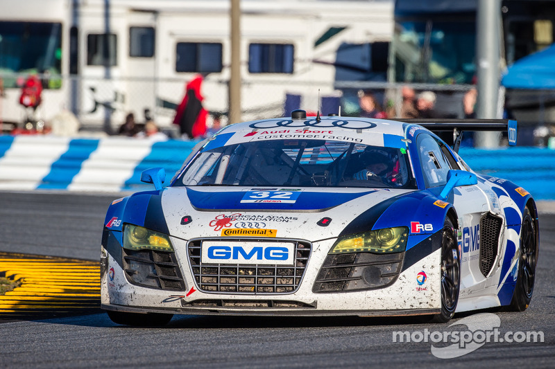 Early incident shortens GMG debut at Rolex 24