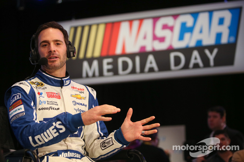 Defending champion Jimmie Johnson on change