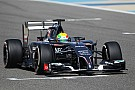 Sauber F1 Team after second day of tests at Bahrain