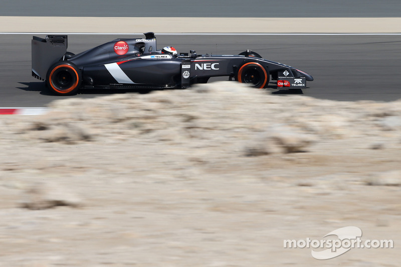 Sauber: A disappointing last day test at Bahrain
