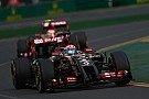 Tough race for Lotus F1 Team at Albert Park