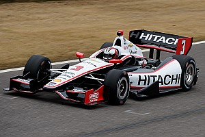 IndyCar Testing report Team Penske completes strong spring training test at Barber
