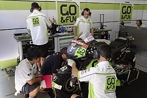 MotoGP Practice report Technical problem halts Scott's progress in Qatar