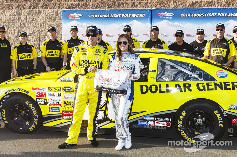 Matt Kenseth captures pole for Auto Club 400