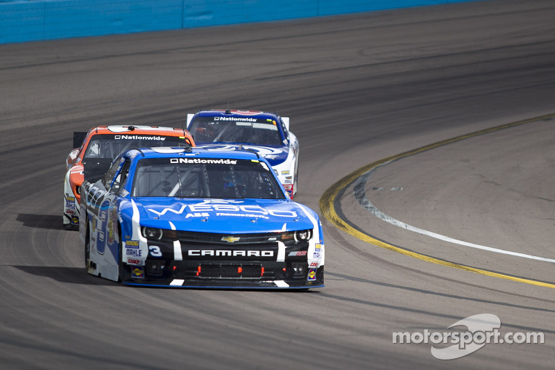 RCR's Ty Dillon finishes eighth at Auto Club Speedway