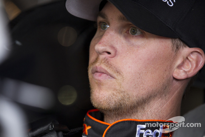Denny Hamlin out for Fontana, Hornish in
