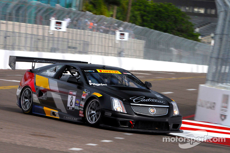Team Cadillac to start fourth and fifth in St. Pete for World Challenge opener